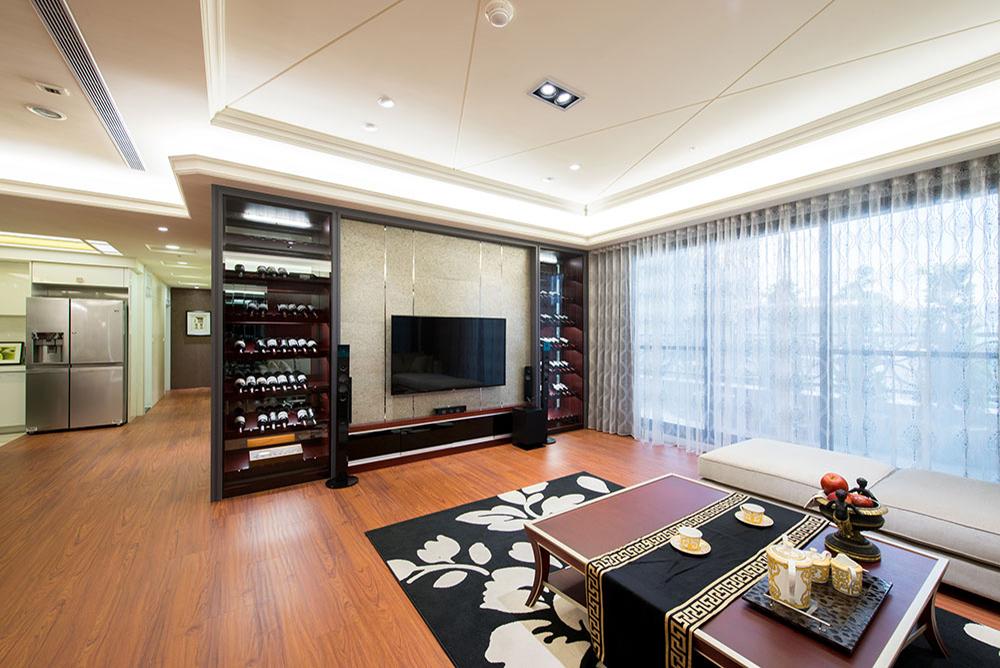 藝術木質居-丰越室內設計